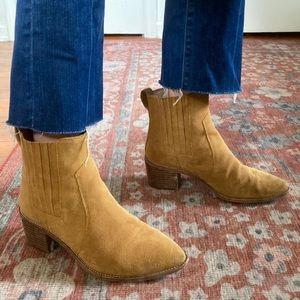 Suede Madewell Regan Boots